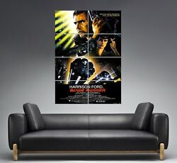 Blade Runner Affiche Cinandeacutema Wall Poster Movie Film Classic Grand Format A0