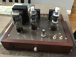 807 SE Stereo Tube Amplifier Singled-Ended Pentode  Ultra-Linear 6N1P 5U4 Amp