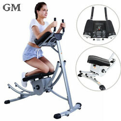 New Abs Abdominal Exercise Machine Crunch Coaster Body Muscle Fitness Workout