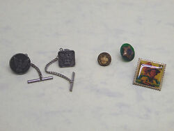 Vintage Bsa Boy Scouts Of America Cub Scout Lot Of Pins Cuff Links Look