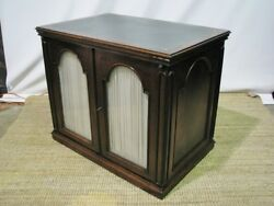 Rare Stunning 19th Century Rosewood Map / Blueprint Cabinet With Expandable Top