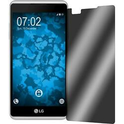 8 x ultra privacy Screen Protector for LG X Skin