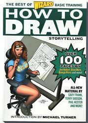 Wizard How To Draw The Best Of Basic Training Storytelling - Paperback New