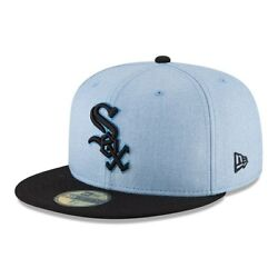 Chicago White Sox New Era Light Blue 2018 Father's Day On Field 59FIFTY Fitted $35.99