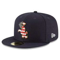 Chicago White Sox New Era Navy 2018 Stars & Stripes 4th of July On-Field 59FIFTY $32.99