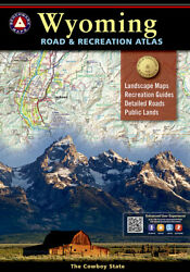 National Geographic Benchmark Wyoming Wy Road And Recreation Atlas W/maps