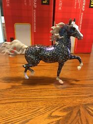 Breyerfest 2010 Technicolor Huckleberry Bey Mold With Stand SPECIAL RUN