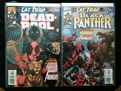 Deadpool #44 & Black Panther #23Cat Trap Crossover! Part 1&2