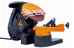 New Dnipro-m Nsp-600 Electric Grinder Chainsaw Chain Sharpener 6300 Rpm Portable