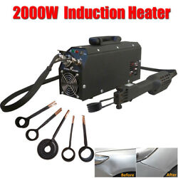 110V 2000W Induction Heater Autos Paintless Dent Repair Hotbox Remover Tool
