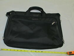 Briggs And Riley Black Laptop Computer Bagwith Shoulder Strap