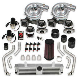 Corvette C6 2005-2007 Ls2 Holley Sts Twin Turbo System W/ Tuner And Fuel Injectors