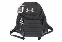 UNDER ARMOUR UA HEAT GEAR UNDENIABLE STORM 3.0 BLACK GRAY BACKPACK BAG MENS NWT