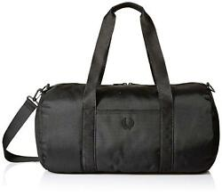 Fred Perry Men's Tonal Track Barrel Bag Black ONE SIZE