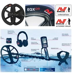 Minelab Equinox 800 Waterproof Metal Detector With 11 And 6 Dd Two Coil Combo