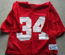 1980 Earl Campbell Practice Worn Houston Oilers Jersey Coa + Letter Signed Clip