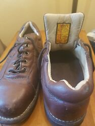 Redwing Worx 5547 Astm F 2413-05 Sz 8.5w Gently Used Steel Leather Shoes