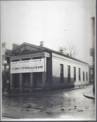 1920s Cabinet Photo Lot Ashtabula Oh Peoples Building And Loan Bank Out And Inside