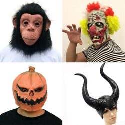 Durable Non-toxic  Mask Terror Halloween Accessory  Cosplay Scary Props Masks