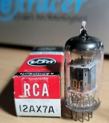 12ax7a Rca 14mm Grey Plate Vintage Tube 12ax7 Top Quality Etracer Tested