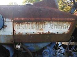 Ford 4000 Tractor Axle Wide Front Will Ship