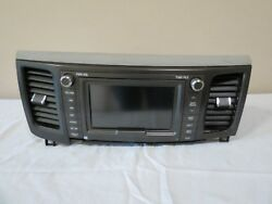 ✅ 11 12-14 Toyota Sienna AM FM Radio Receiver Display GPS NAVI UNIT w VENTS OEM