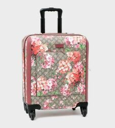 GUCCI GG Blooms Travel Suitcase Luggage Bag Carry 451003 KU2VD Pink Floral Rare