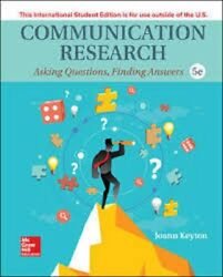 Communication Research 5th By Joann Keyton Us Delivery 3-4 Bus Days/insurance