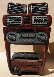 Toyota Corolla Ae111 JDM style walnut air climate controler complete set oem Jdm