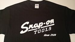 Snap-on tool t-shirt Since 1920 (Black) size SMLXL available