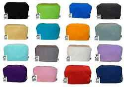 Cozycoverup® For Toaster 2,4 And Dualit Dust Cover Plain Colours 100 Cotton