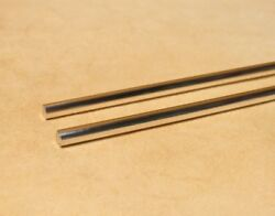 9999 Pure Silver Wire 4 Gauge - Two 2 10 Inch Rods - Gss Guaranteed 99.99+