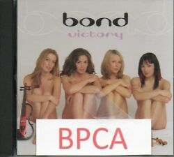 Sealed Us Promo Cd Single Sexy Girl Band Bond Victory Naked Cover L@@k