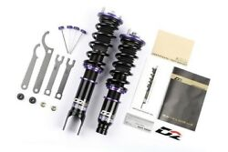 D2 Racing Rs Series 36-step Adjustable Coilover Kit Set For 88-90 Mazda 323 Gtx