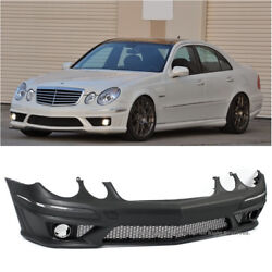AMG Style Front Bumper Cover PP For 07-09 E-Class W211 Mercedes Benz Wo Sensor
