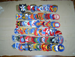 Complete Set Of Ww2 Us Infantry Divisions Including Phantom And Late 40s Ng