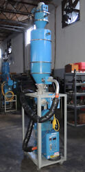 Novatec Md-25s Dehumidifying Dryer Hopper And Vacuum Loader Complete System