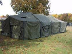 Us Military 18x36 Mgpts Tent No Floor Hunting Camping Canopy Event Surplus Army