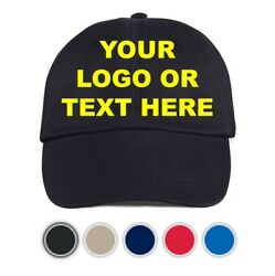 10 10 10 Custom Embroidery Embroidered baseball HATS CAPS Logo or text caps