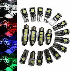 Bmw X6 F16 - Interior Lights Package Kit - 20 Led - White Blue Red 114.2531