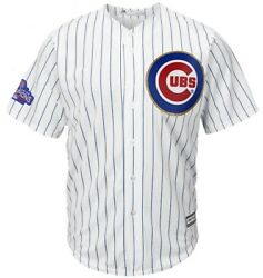 Rizzo Bryant Chicago Cubs Majestic Gold Big And Tall Player Jersey Xlt Xl Tall