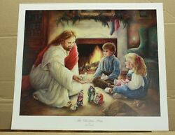 A Christmas Story By Paula Vaughan Religious Nativity Children Jesus Hoiliday