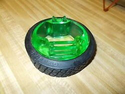 Vintage 1920's General Tire Rubber Ashtray And Green Embossed Insert
