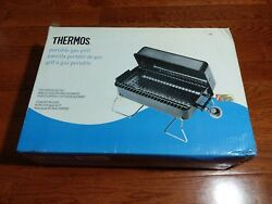 Thermos Table Top Portable Lp Outdoor Gas Grill 461118 Black New Sealed