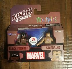2018 Avengers Of 1000000 BC MINIMATES Black Panther & Starbrand Walgreens New