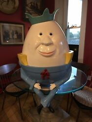 Antique Vintage Humpty Dumpty Store Display Awesome Decor For Nursery Room Etc.
