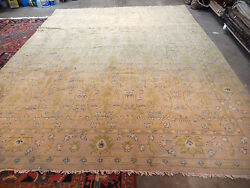 Wonderful Antique Spanish Rug Circa 1930s Handmade Wool Carpet Spain 9 X 11and0399and039and039