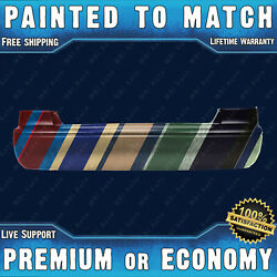 Painted To Match Rear Bumper Cover Replacement 2000 2001 Toyota Camry Ce Le Xle