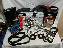 Aisin Water Pump Timing Belt Kit W/ Hoses For 2000-2005 Toyota Tundra 4.7l V8