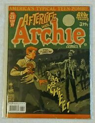 Life With Archie 23 Francesco Francavilla Afterlife With Archie Variant